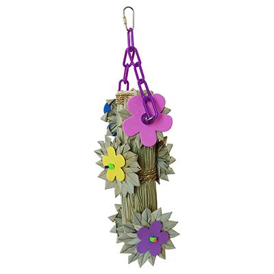 Super Bird Fab Flowers Bird Toy for Larger Birds