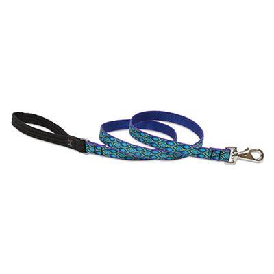 Lupine Nylon Dog Leash 6-foot x 3/4-inch Rain Song Click for larger image