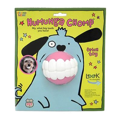 Humunga Chomp Medium Ball Dog Toy