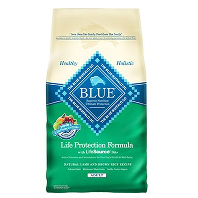 Blue Life Protection Lamb and Rice Dog Food 15lb