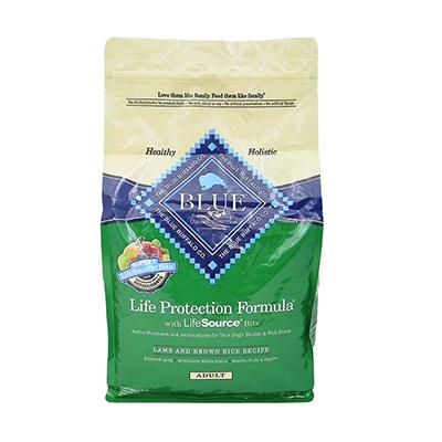 Blue Life Protection Lamb and Rice Dog Food 6lb