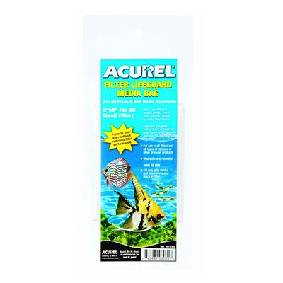 Acurel Mesh Aquarium Filter Saver Bag Small 3 x 8-inch