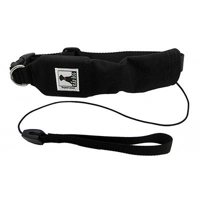 Release N Run Black Large Collar Retractable Lead