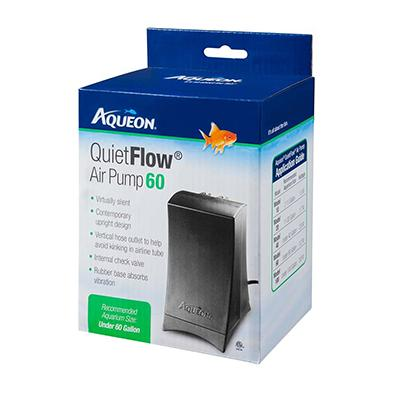 Aqueon Quiet Flow Air Pump 60 for Tanks up to 60 Gallons
