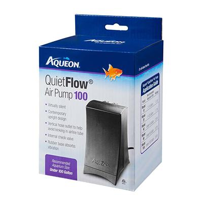 Aqueon Quiet Flow Air Pump 100 for Tanks up to 100 Gallons