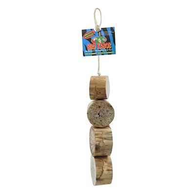 Bird Kabob Mucho Grande Natural Yucca Bird Toy Click for larger image