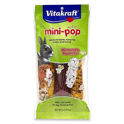 Mini Pops Microwaveable Treat for Birds and Small Animals Click for larger image