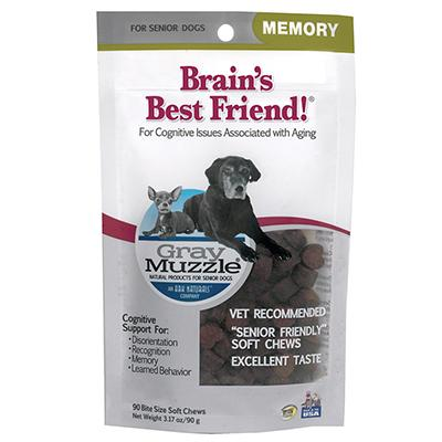 Gray Muzzle Cognitive Support Supplement for Dogs 90ct Click for larger image