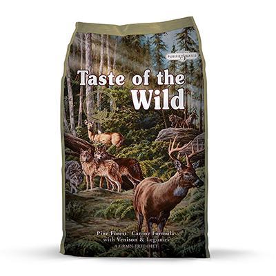 Taste of The Wild Pine Forest Canine Formula Dog Food 14-Lb.