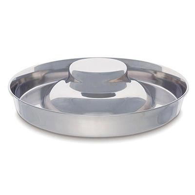 Proselect Stainless Puppy Dish 11 inch Click for larger image