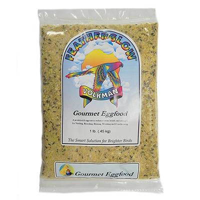 Volkman Seed Featherglow Gourmet Eggfood 1lb 3 Pack