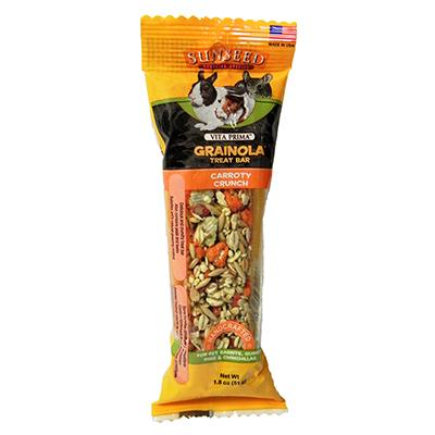 Grainola Carrot Crunchy Small Animal Treat Bar
