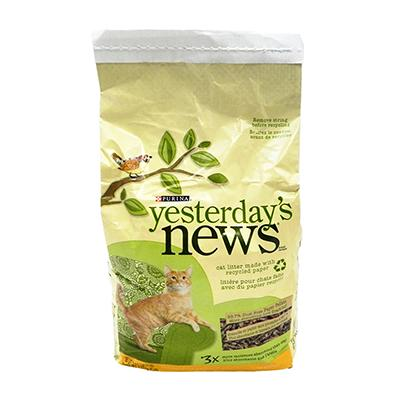 Yesterdays News Recycled Paper Cat Litter 5 lb Click for larger image
