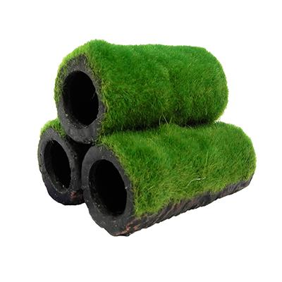 Hideaway Grass Pipes Aquarium Ornament