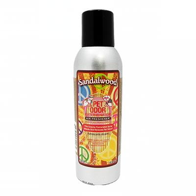 Pet Odor Eliminator Air Freshener Sandalwood 7oz. Click for larger image