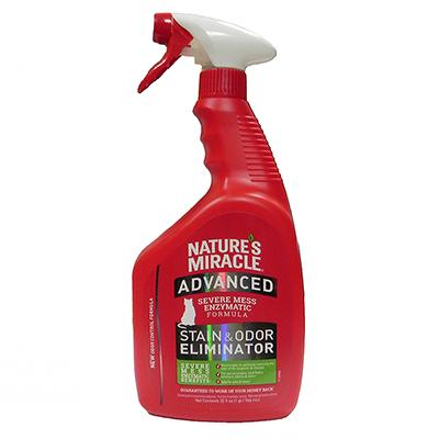 Natures Miracle Advanced Cats Stain and Odor Remover 32oz Click for larger image