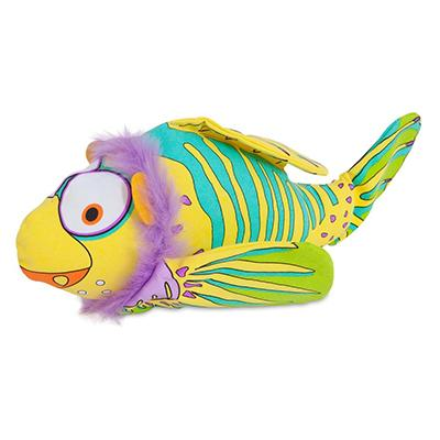 Fat Cat Finimals Lionfish Dog Toy