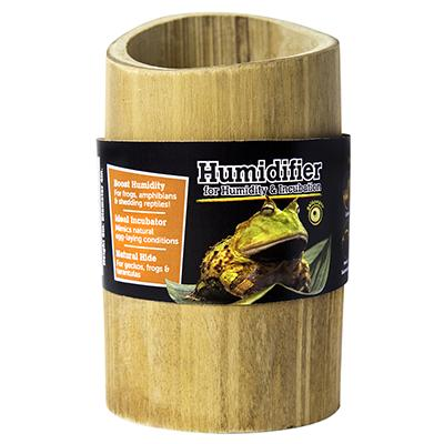 Galapagos Natural Bamboo Terrarium Humidifier Small Click for larger image