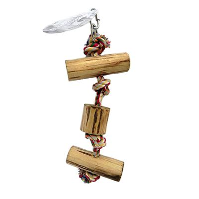 ParroTopia Climbing Rope Small Natural Bird Toy