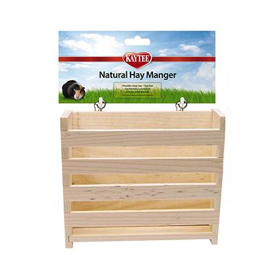 Kaytee Natural Hay Manger for Small Animals