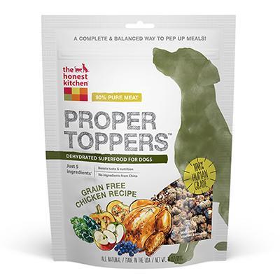 Honest Kitchen Grain Free Proper Toppers Chicken 5.5 oz