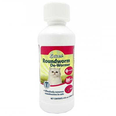 8-1 Excel 4 ounce Cat Roundworm Treatment