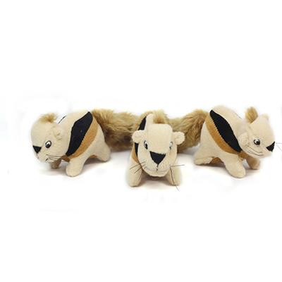 Puzzle Plush Squirrel Soft Toy 3 pack