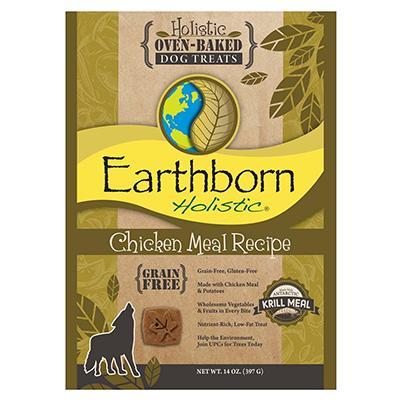Earthborn Grain Free Dog Biscuits Chicken 14oz