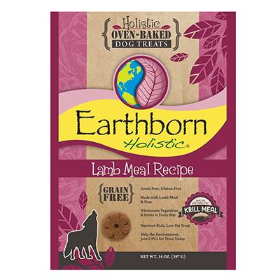 Earthborn Grain Free Dog Biscuits Lamb 14oz