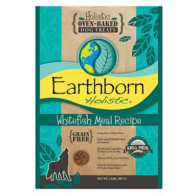 Earthborn Grain Free Dog Biscuits Whitefish 2lb
