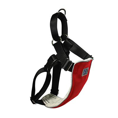No Pull Martingale Harness XLarge Red 30-40-inch