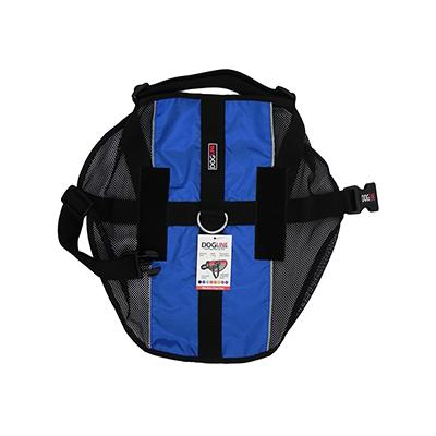 MaxAire XLarge Blue  Mesh Vest for Service Dogs Click for larger image
