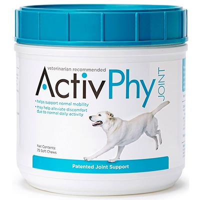 ActivPhy Joint Supplement Soft Bites For Dogs 75ct Click for larger image