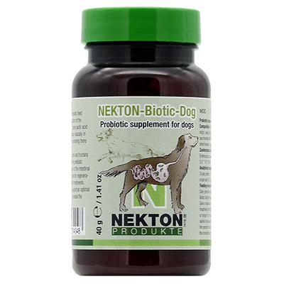 Nekton Biotic-Dog Probiotic Supplement for Dogs 40gm (1.4oz) Click for larger image