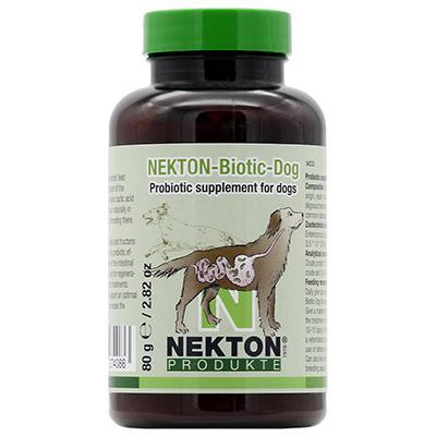 Nekton Biotic-Dog Probiotic Supplement for Dogs 80gm (2.8oz) Click for larger image