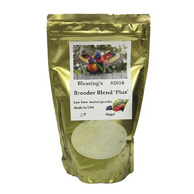 Blessing's Breeder Blend Lory Dry Lorikeet Food 2lb