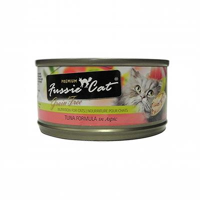 Fussie Cat Tuna  Premium Canned Cat Food 2.8oz each