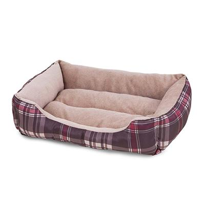 Aspen Luxury Small Rectangular Dog and Cat Bed 20x15 inch