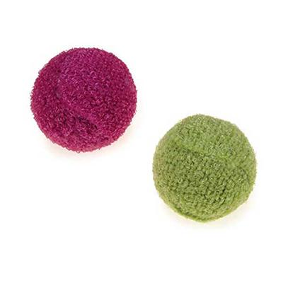 Knit Rattle Ball Cat Toy