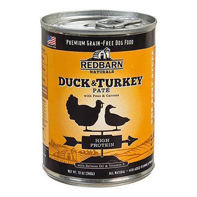Redbarn Dog Duck Turkey 13oz case