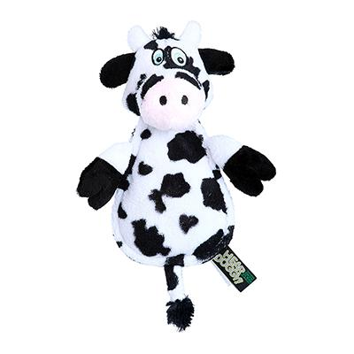 Soft Toy Hear Doggy Ultrasonic Flat Cow Dog Toy