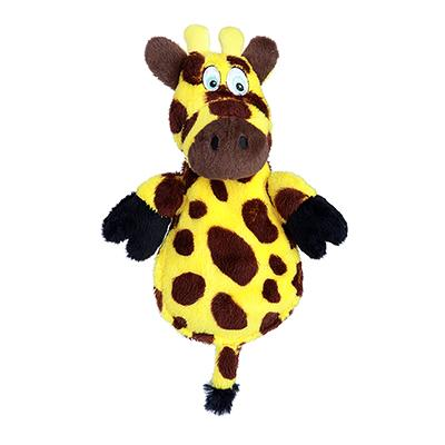Soft Toy Hear Doggy Ultrasonic Flat Giraffe Dog Toy