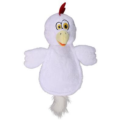 Soft Toy Hear Doggy Ultrasonic Flattie Chicken Dog Toy