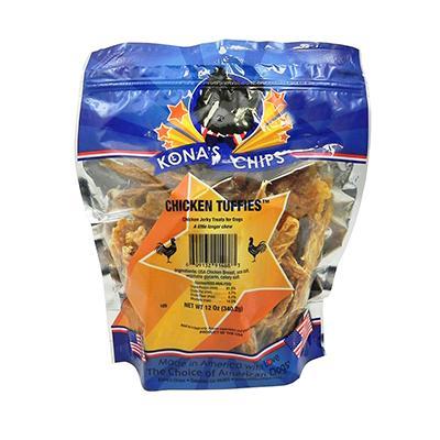 Kona's Chips Chicken Tuffies 12oz
