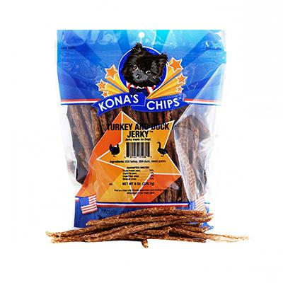 Kona's Chips Turkey Duck Sticks 8oz