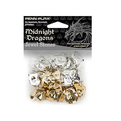 Midnight Dragons Stones Aquarium Decorations 16pc.