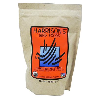 Harrisons High Potency Fine Organic Bird Food 1-Lb.