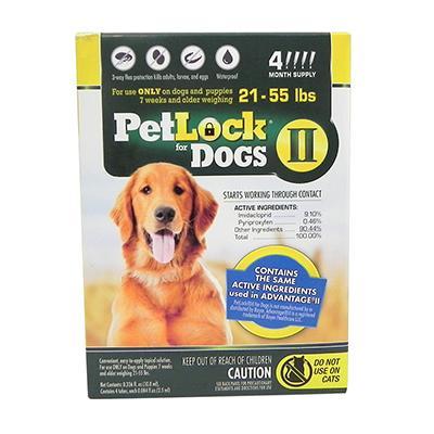 Petlock II Dog 21-55 lb 4pk
