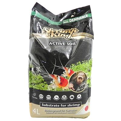 Shrimp King Active Soil Aqutic Substrate 4-Liters Click for larger image