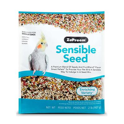 Zupreem Sensible Seed for Medium Birds 2lb Click for larger image